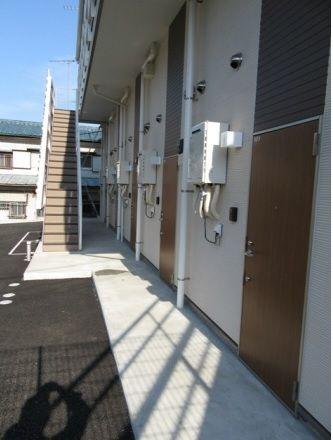 <br />玄関スペース。