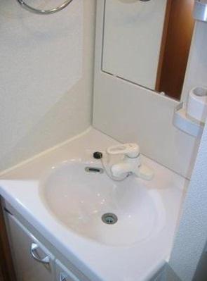<br />洗面台イメージ。