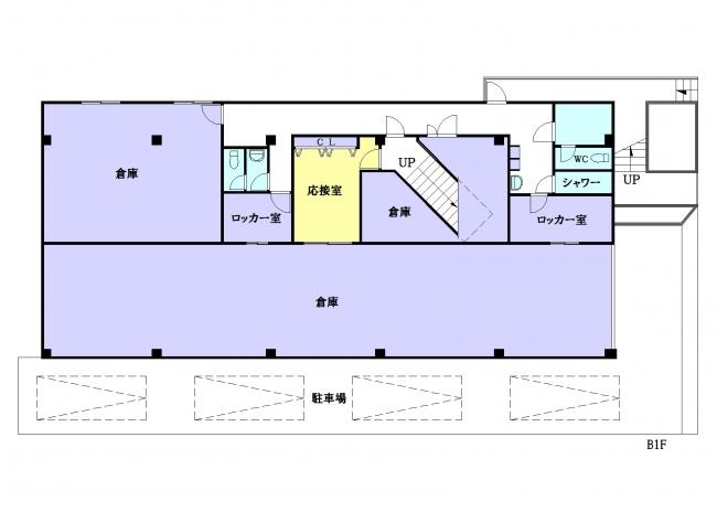 【間取り】<br />地下1階
