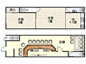 大阪市生野区中川 | 今里駅 売り店舗・事務所