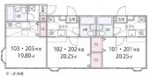 東急田園都市線たまプラーザ駅の一棟売りアパート