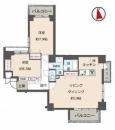 賃貸中!◇専有72平米の2LDK!【ヴィラージュ南青山 6階】 | 投資マンション