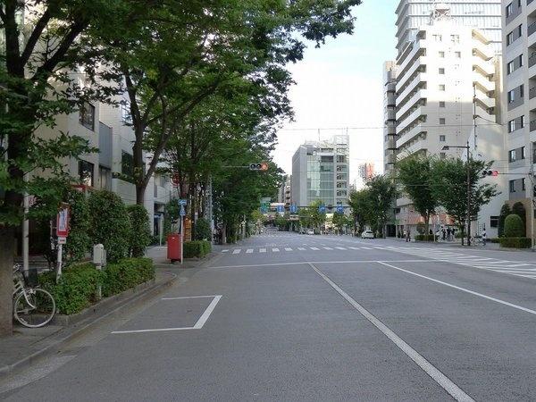 【その他】<br />前面道路(清洲橋通り)
