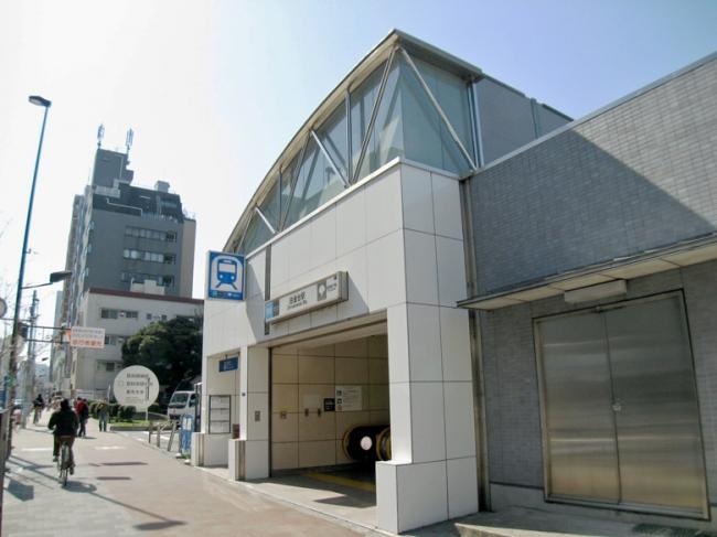 <br />白金台駅 東京メトロ南北線