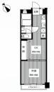 賃貸中!◇9階建て最上階!◇専有34平米◇BT別 【シャンボール川崎9階】 | 京急川崎駅 投資マンション