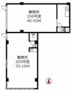 賃貸中!◇2階の店舗・事務所×2戸! 【エスカイア北小岩第二】 | 売り店舗・事務所