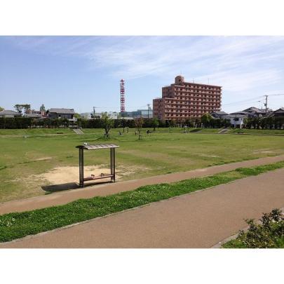 <br />公園からみたハピネス祇園